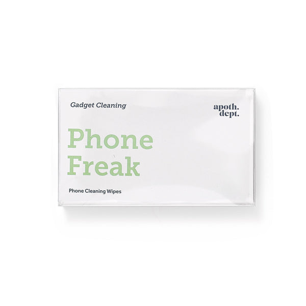 Men's Society Phone Freak Gadget Cleaning Wipes