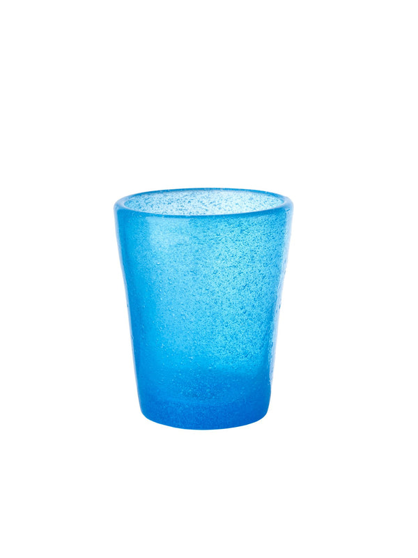 Pols Potten glassware HE glass azure blue