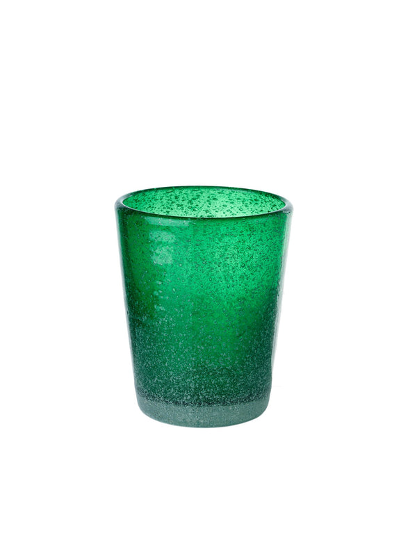 Pols Potten glassware HE glass azure green