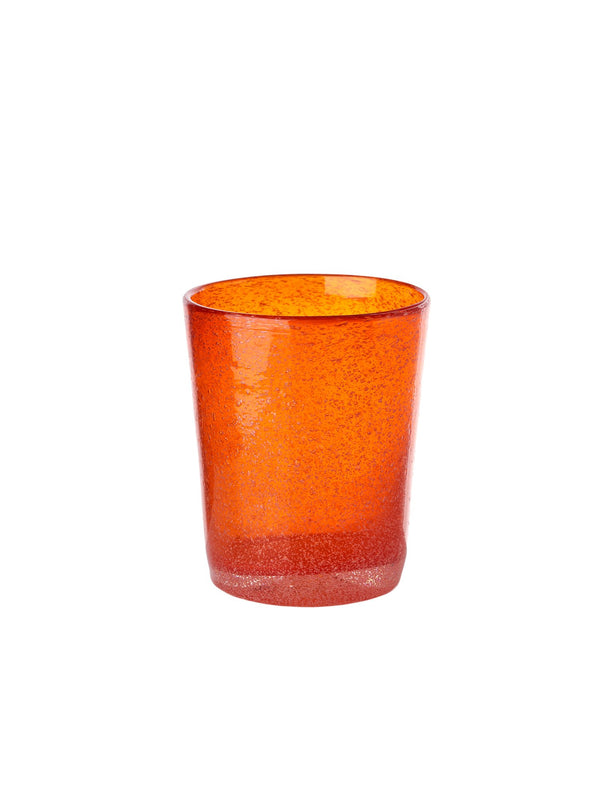 Pols Potten glassware HE glass azure orange