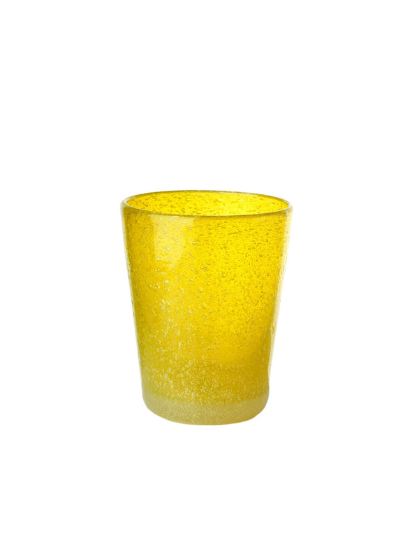Pols Potten glassware HE glass azure yellow