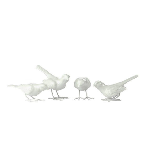 Pols Potten home decor porcelain starling birds