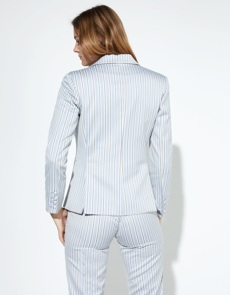 Blazer Jacket Pyjama Stripes