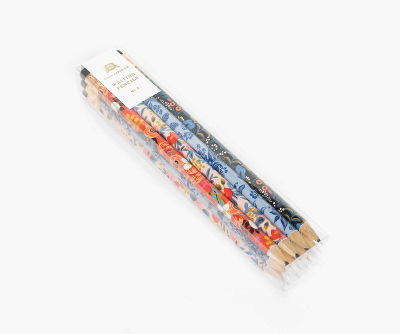 Rifle Paper Co. Set of Floral Writing Pencils