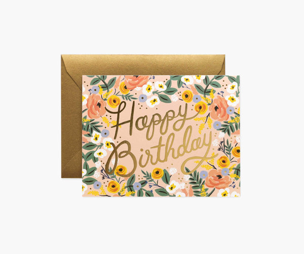 Rifle Paper Co. Rose Birthday