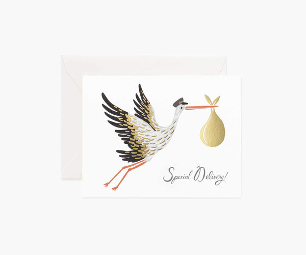 Rifle Paper Co. Baby Stork