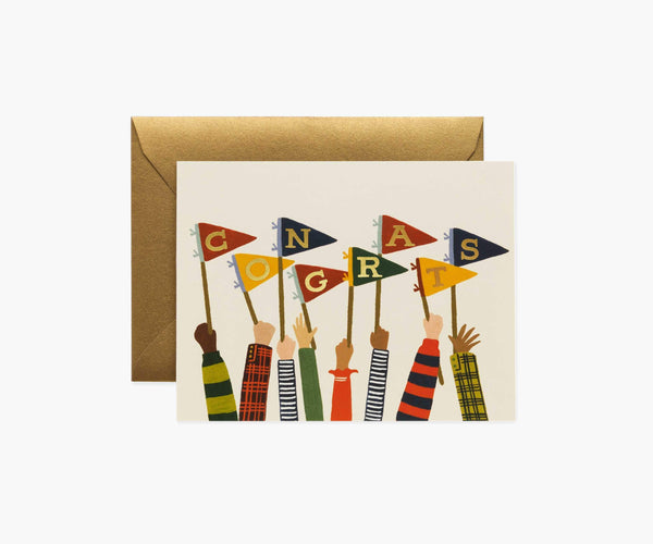 Rifle Paper Co. Congrats Pennants