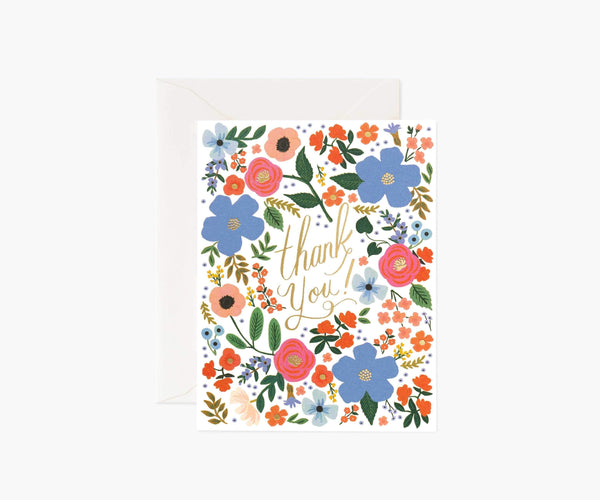 Rifle Paper Co. Wild Rose Thank You
