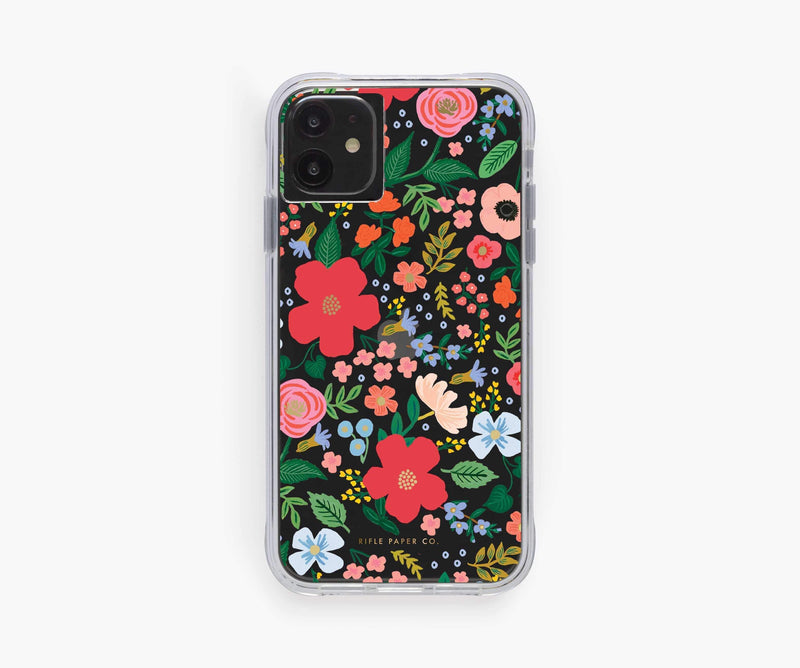 Clear iPhone Case - Wild Rose
