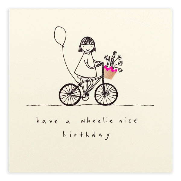 Ruth Jackson Birthday Wheelie