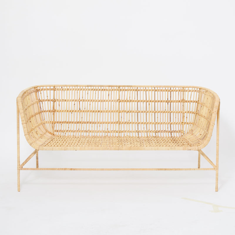 ANOTHER STORY Rattan sofa 2 seater
