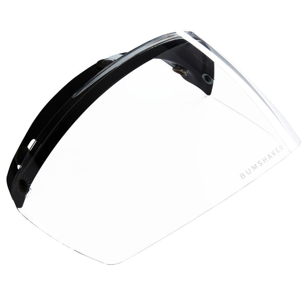 Bum Shaker motorbike and motorcycle helmet visor shield