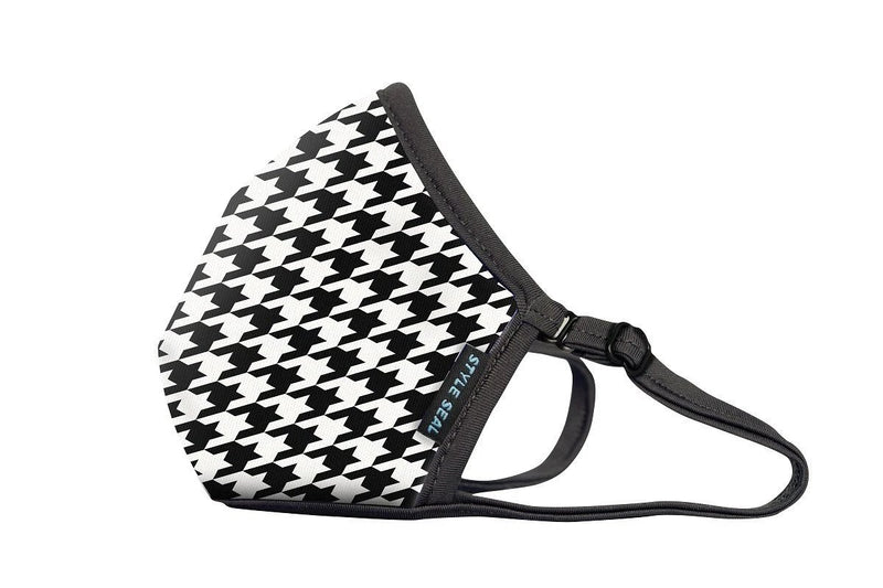 Styleseal Houndstooth Air Mask (No Valve)