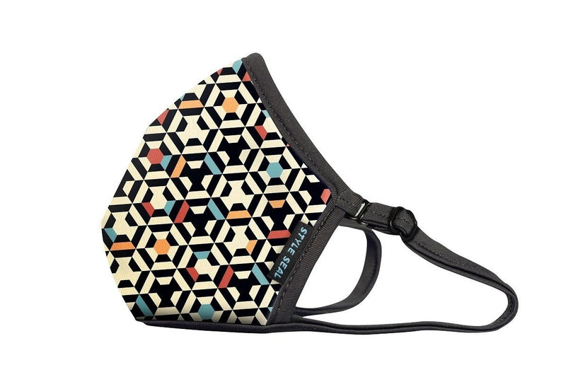 Styleseal Geometric Color Air Mask (No Valve)