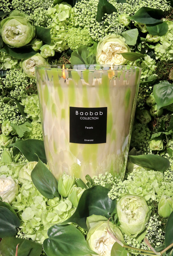 Baobab Collection Scented Candle - Emerald Pearls