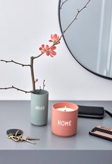 Design Letters Scented Candle HOME, Large