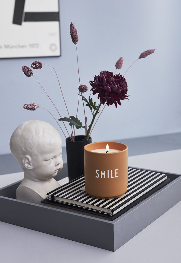 Design Letters Scented Candle SMILE, Large