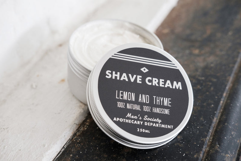 Men's Society Shave Cream Lemon & Thyme