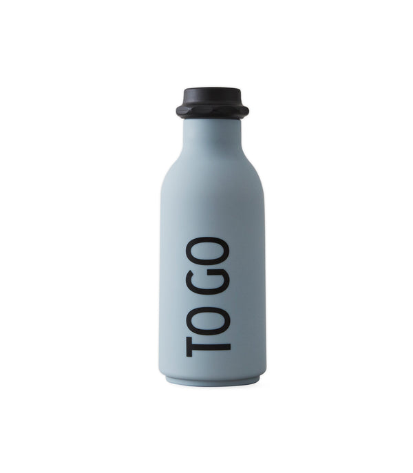 Design Letters TO GO Drinking Bottle (Grey)