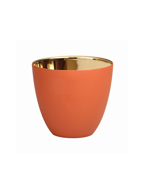 Tealight Holder &Klevering teracotta large