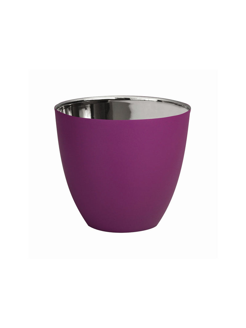 Tealight Holder &Klevering purple large