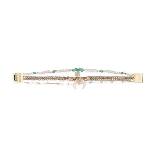Teepee multi links bracelet Hipanema