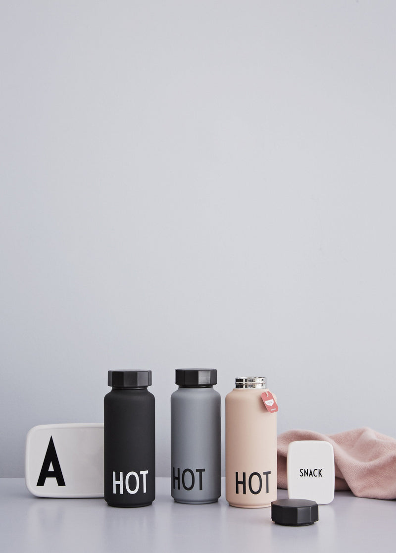 Design Letters Thermo/Insulated Bottle HOT&COLD (Grey)
