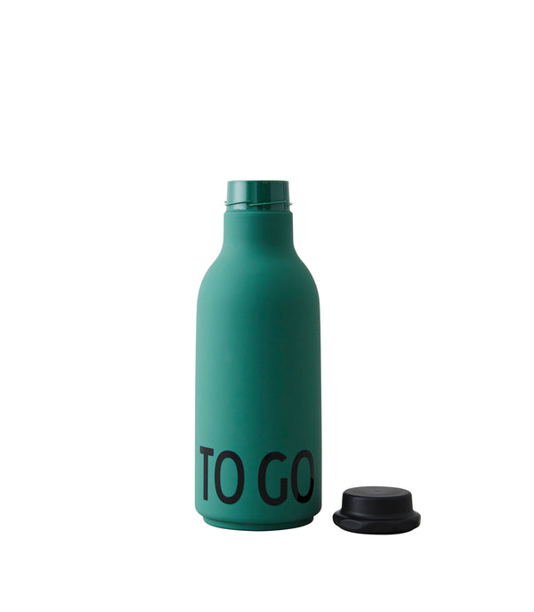Design Letters To Go Drinking Bottle (Dark Green)