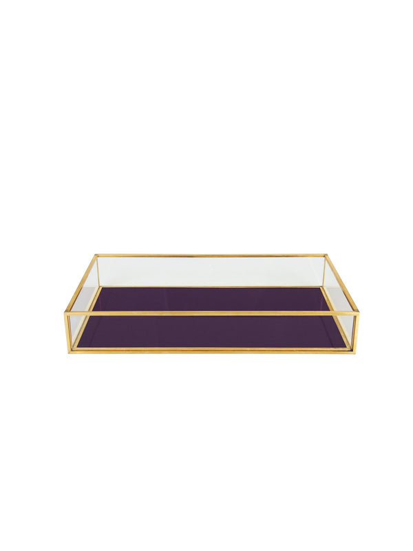Treasure  &Klevering Box Rectangle Purple