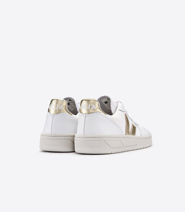 Veja exclusive collection sneakers v-10 b-mesh white gold