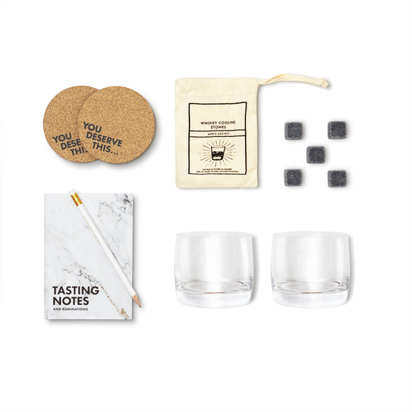 Men's Society Whisky Lover Accessory & Tasting Kit
