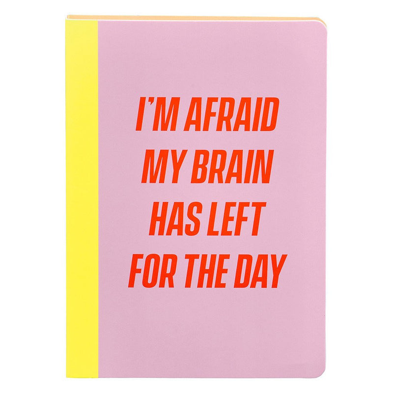 Yes Studio Sticky Notes Set Afraid
