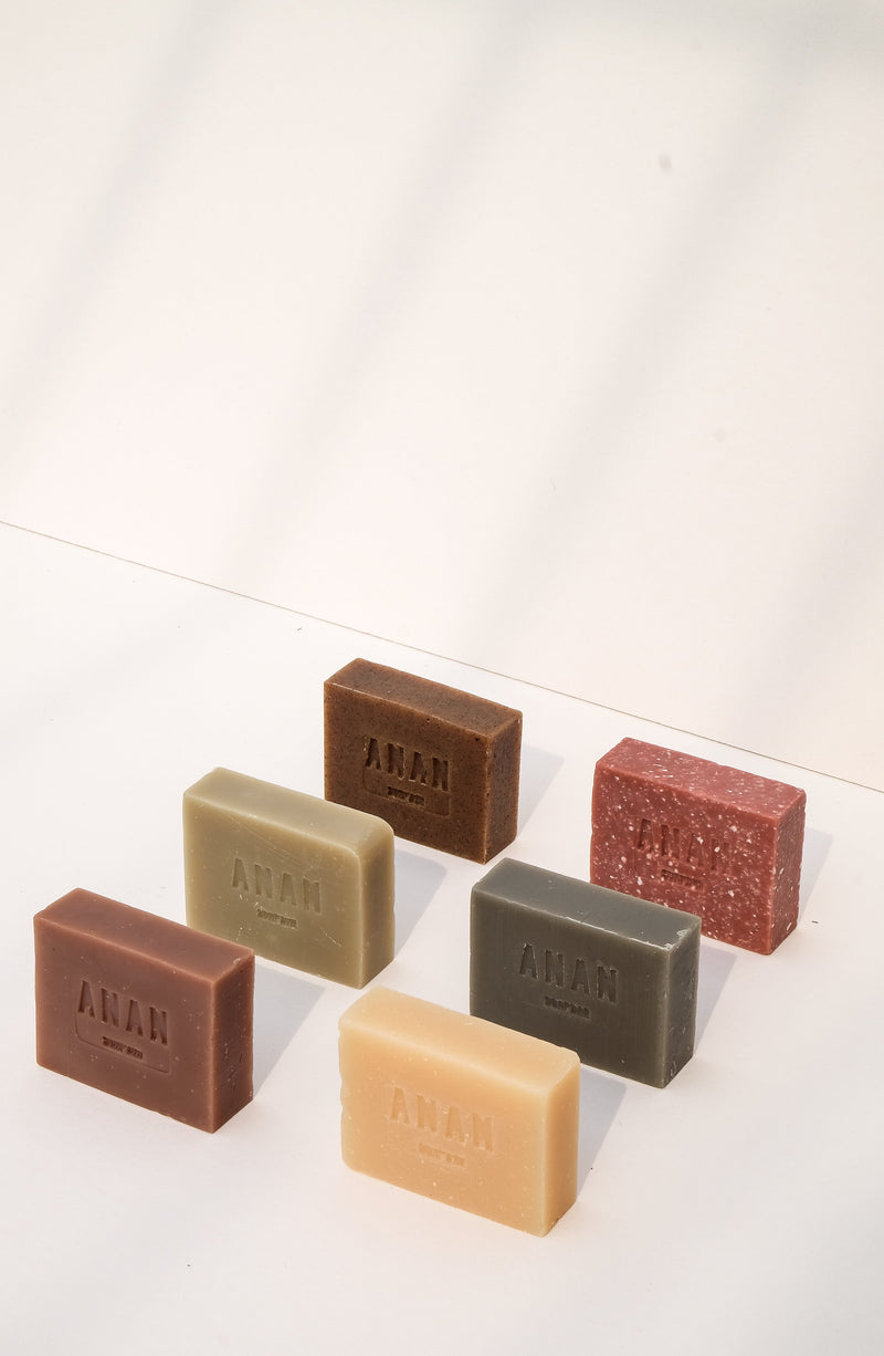 Anan Soap Bar - Rice & Goat Milk Scrub