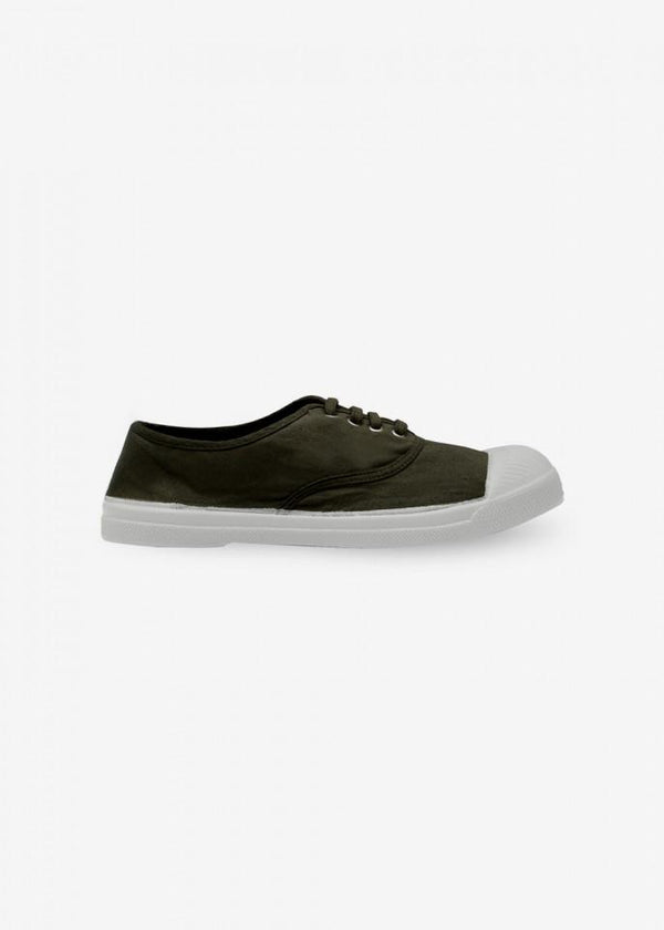 Bensimon LACE WOMEN SNEACKERS - KHAKI