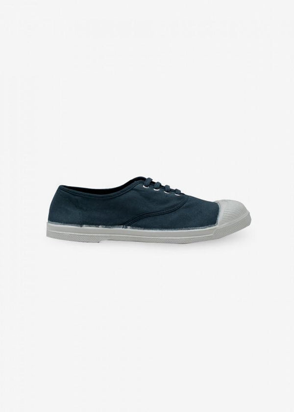Bensimon MEN LACE SNEACKERS - STORM