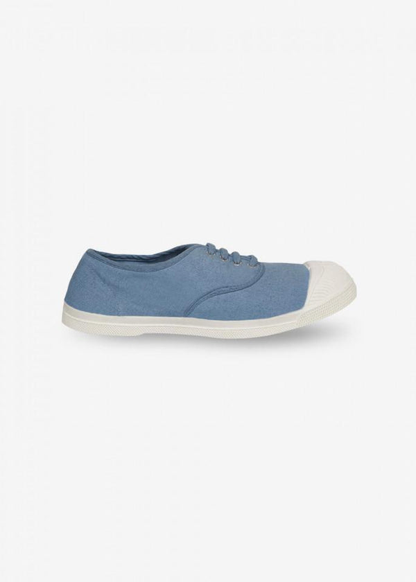 Bensimon LACE TENNIS SHOES - DENIM BLU