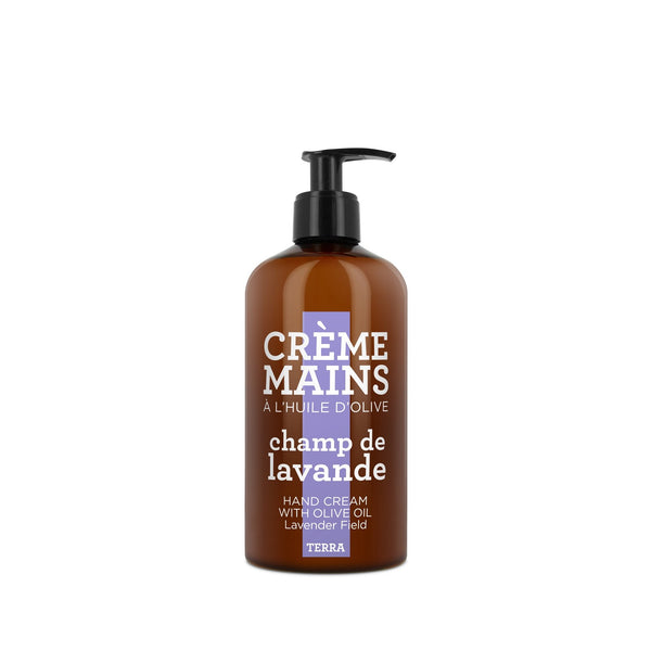 Terra Hand Cream with Olive Oil Terra - Lavender Field - 300ml