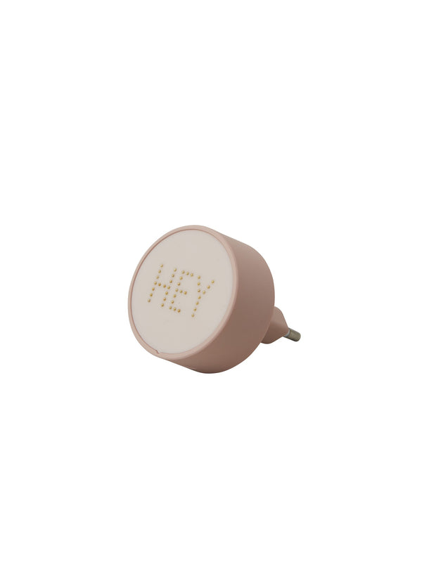Design Letters Charger Pearls - Nude
