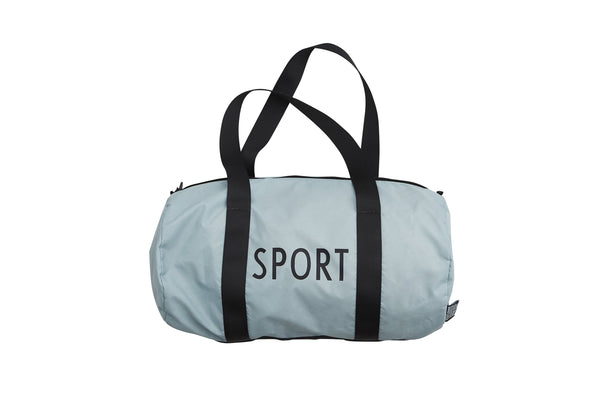 Design Letters Sports Bag Large - GREEN