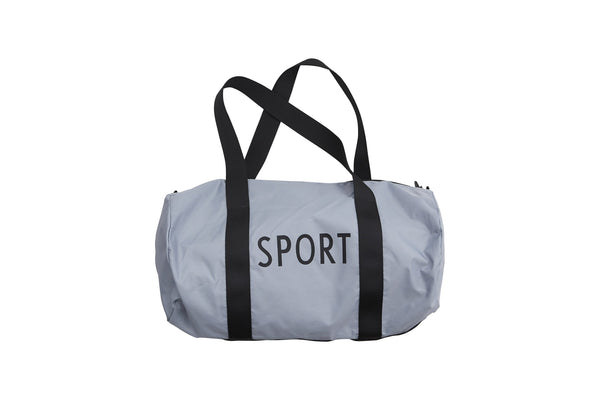 Design Letters Sports Bag Large - GREY