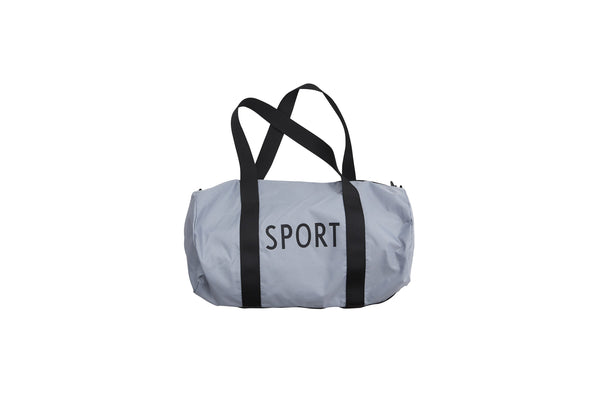 Design Letters Sports Bag small - GREY
