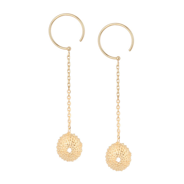 Sea Urchins Long Earrings