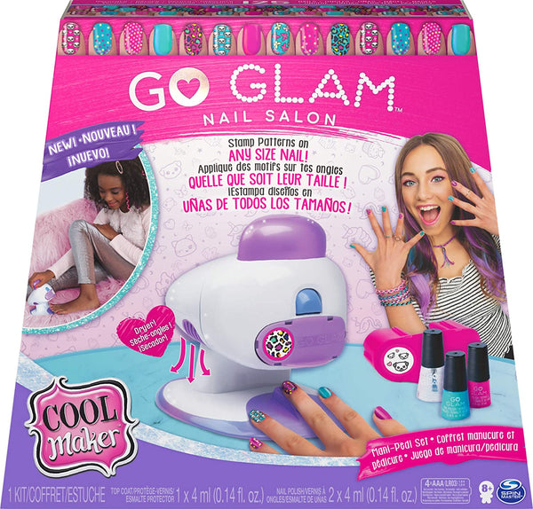Go Glam Cool Maker Go Glam Nail Stamper 2 In 1