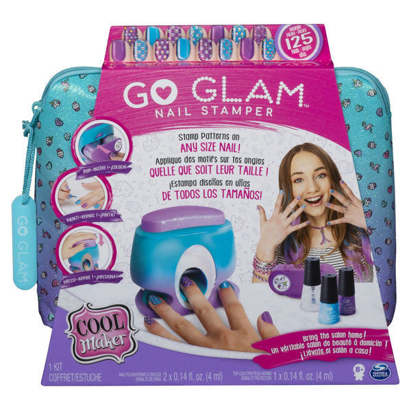 Go glam NAIL STAMPER FULL SET