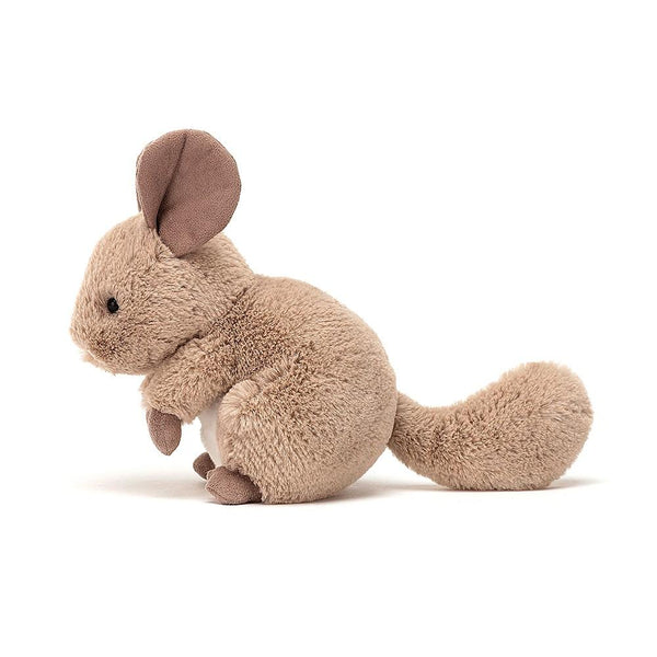 Jellycat collection Cheeky Chinchilla Sandy