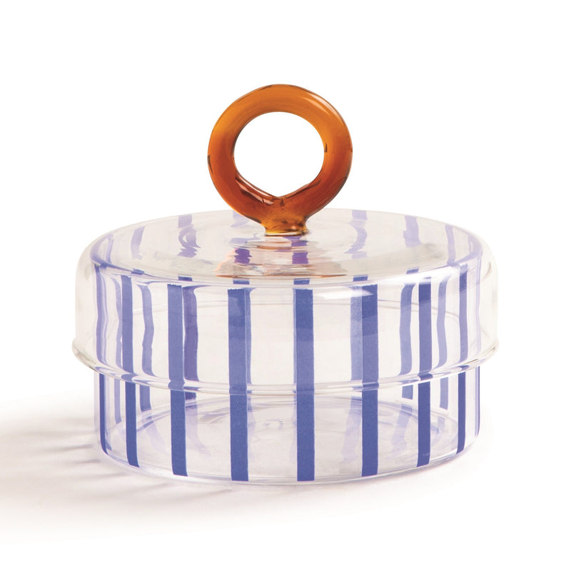 &Klevering Jar circus blue