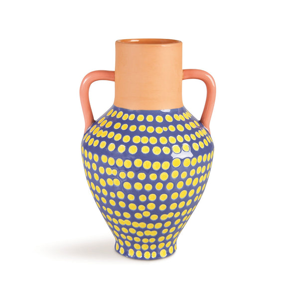 &Klevering Vase terracotta dotted