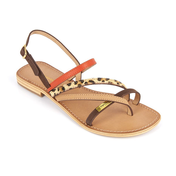 Les Tropeziennes exclusive spring summer collection C 23283 HOUKA ORANGE/MULTI