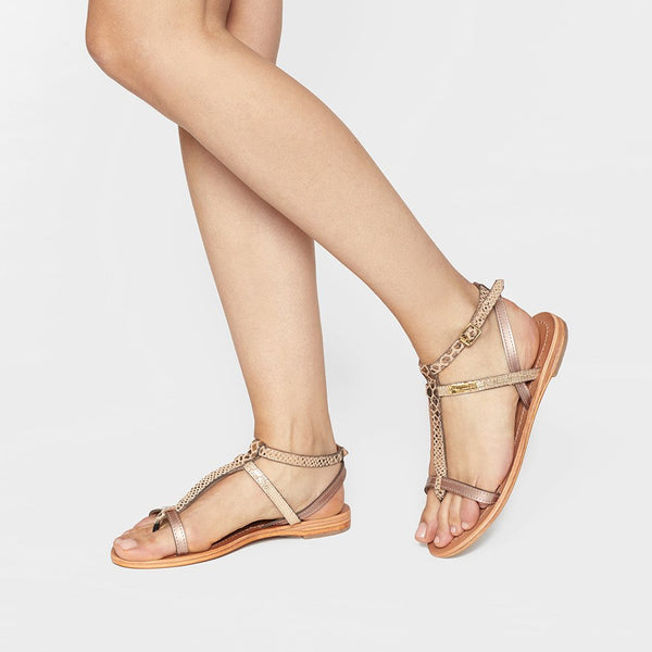 Baie sandals - bronze/multi