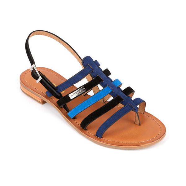 Hanoi sandals - black/blue